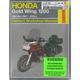 Motorcycle Repair Manual - 2199