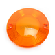 Flat Style Turn Signal Lens - HDSMOOTHAMBER