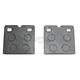 Organic Kevlar Brake Pads - 1720-0276