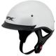 Pearl White FX-72 Helmet