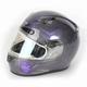 Gray/Purple CL-17SN MC-11 Mystic Helmet w/Frameless Electric Shield