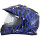 Blue FX-39S Dazzle Helmet