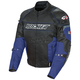 Black/Blue Resistor Mesh Jacket