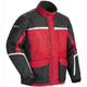 Womens Red/Black/Silver Cascade 2.0 Jacket
