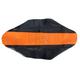 Black/Orange Team Issue 3-Panel Grip Seat Cover - 55304