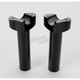 5.5 in. Black Straight Risers - 0602-0405
