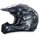 Frost Gray Multi FX-17 Inferno Helmet