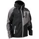 Black/White Barrier Tri-Lam Jacket