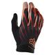 Black/Orange Airline Gloves