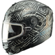 Black Divas Snow Gear DSG GM54S Aztec Modular Snowmobile Helmet