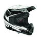Black Quadrant Stripe Helmet