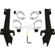 Black Batwing Fairing Trigger-Lock Mounting Kit - MEB1990