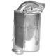 Silver Lightweight Silencer - 09-312
