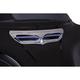 Chrome LED Fairing Vent Trim - 40010