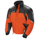 Orange/Black/Silver Storm Snowmobile Jacket