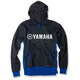 Blue/Black Yamaha Lined Zip-Up Hoody
