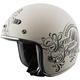 Matte Cream American Beauty SS600 Helmet