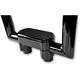 Black 1.5 in. Handlebar Risers w/Top Triple Clamp - 0602-0601