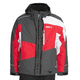 Charcoal/Red Squamish Jacket