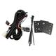 Black Universal Side-X-Side Mounting Kit - JHD910SXS