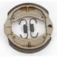 Asbestos Free Sintered Metal Brake Shoes - 9110