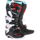 Cyan/Black/Red Tech 7 Boots