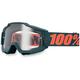 Gunmetal Accuri Goggles w/Clear Lens - 50200-025-02