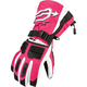 Womens Black/Magenta Comp Gloves