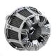 Chrome Inverted Series 10-Gauge Air Cleaner Kit - 18-944