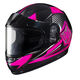 Youth Pink/Black/Gray CL-YSN MC-8 Striker Helmet with Framed Dual Lens Shield