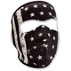Black/White Neoprene Vintage Flag Full Face Mask - WNFM091