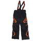 Youth Black/Orange Helix Pants