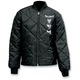 Diamond-Quilted Spinning Skulls Shop Jacket