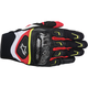 Black/White/Yellow/Red SMX-2 Air Carbon Gloves