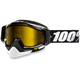 Black Racecraft Snow Abyss Black Goggle w/Dual Yellow Lens - 50103-001-02