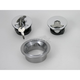 2 1/4 in. Vented Flush Mount Gas Cap w/Weld-In Steel Non-Locking Bung - CCE9500VS