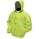 Hi-Viz Green H-Toadz Rain Jacket