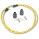 Yellow/Black/Red Cloth 7mm Spark Plug Wires - 000344-3