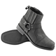 Black Cruise Missile Leather Boots