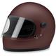 Flat Primer Red Gringo S Helmet