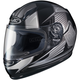 Youth Black/Gray CL-Y MC-5 Striker Helmet