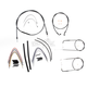 Black Pearl Designer Series Handlebar Installation Kit for Use w/15 in. - 17 in. Ape Hangers - 487102
