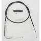 Alternative Length Black Vinyl Idle Cable for Custom Height/Width Handlebars - 0651-0232