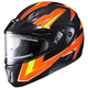 Orange/Yellow/Black/White CL-Max 2 Ridge Helmet w/Electric Shield