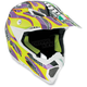 Yellow/Purple Evo AX8 Helmet