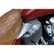 Chrome Saddle Shield Heat Deflectors - 7181