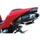Tail Kit with Black/Clear Turn Signals - 22-166-L