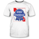 White Blue Ribbon T-Shirt