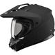 Flat Black GM11D Dual Sport Helmet