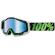 Mirrored Metallic Lime Race Craft Goggles - 50110-027-02